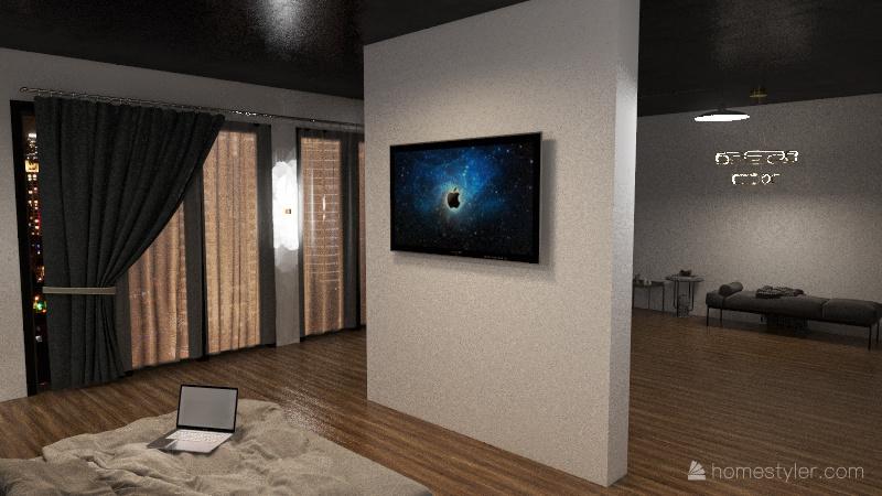 for 1 Interior Design Render