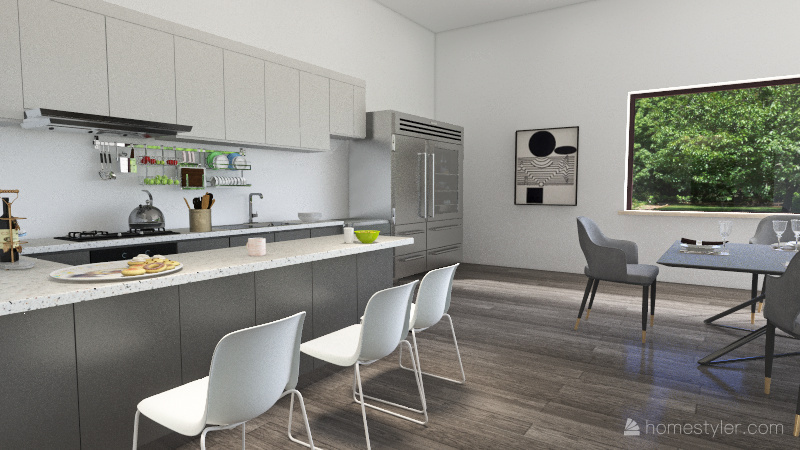 CASA FAMILIAR SIMPLE Interior Design Render