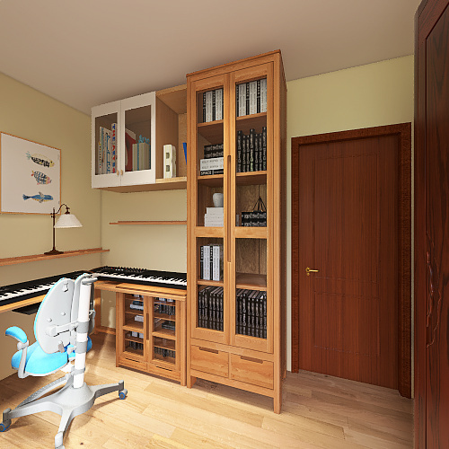 Copy of Quarto Dani  Interior Design Render