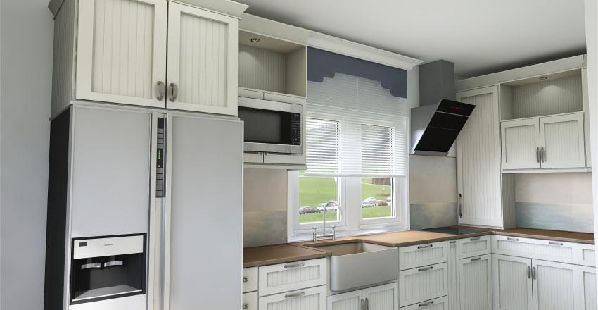 Bucatarie Interior Design Render