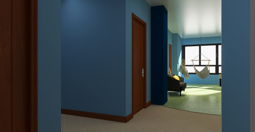 SIXTH SENSE DEF Interior Design Render