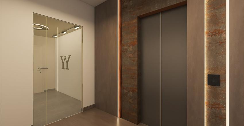 white beams-100ft new Interior Design Render
