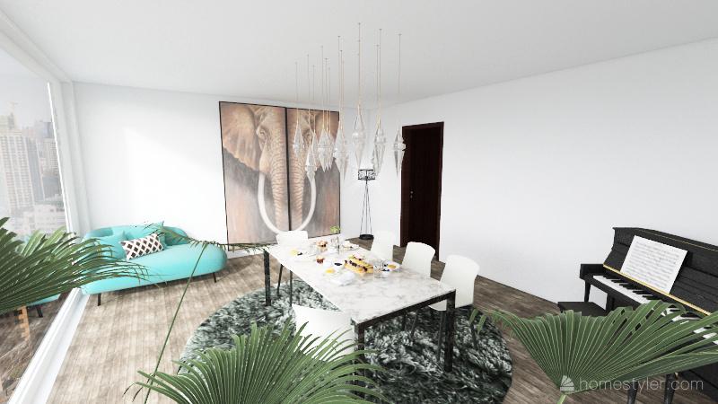 The Lodge Interior Design Render