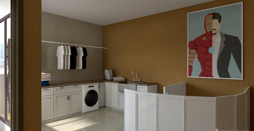 Dreamy; Super Warm Interior Design Render