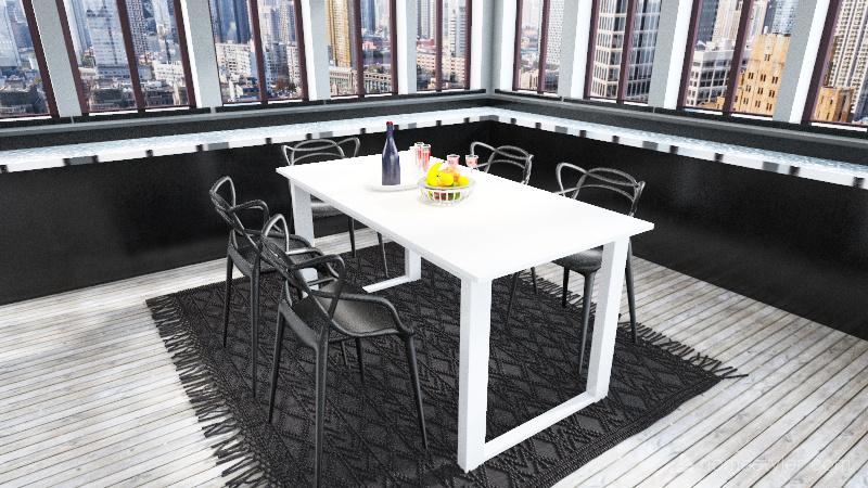 CEO's apartement sweet Interior Design Render