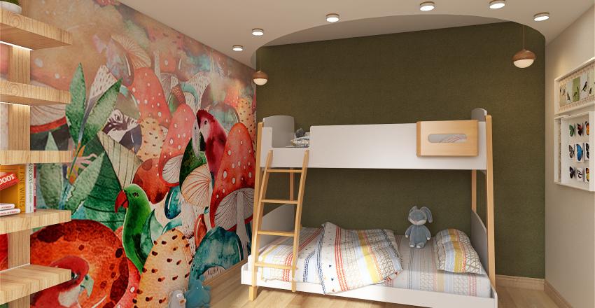 детская Волшебный лес Interior Design Render
