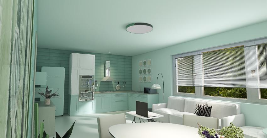 A Slice Of Suburban Life Interior Design Render