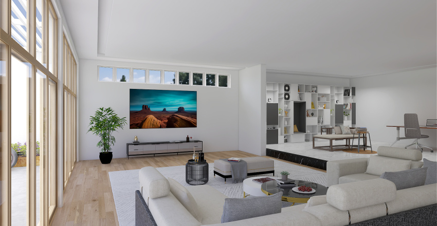 Working space VDA Interior Design Render