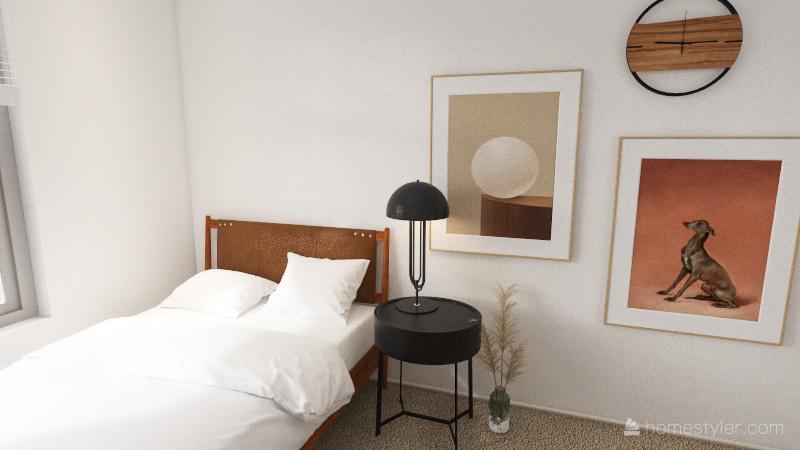 bedroom 2 Interior Design Render
