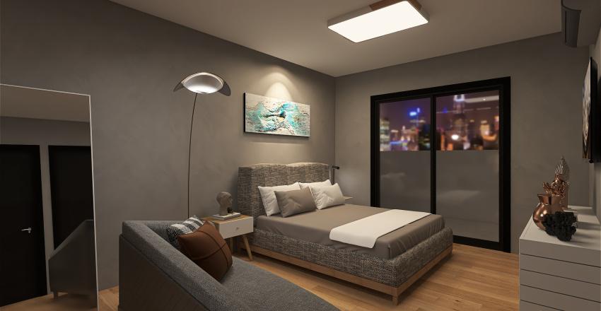 Apartamento Espaçoso/Spacious Apartment Interior Design Render