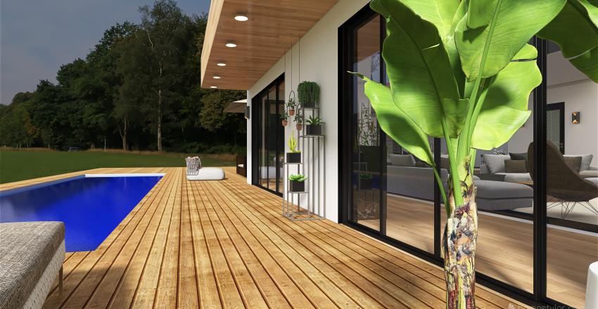 Twin House Interior Design Render