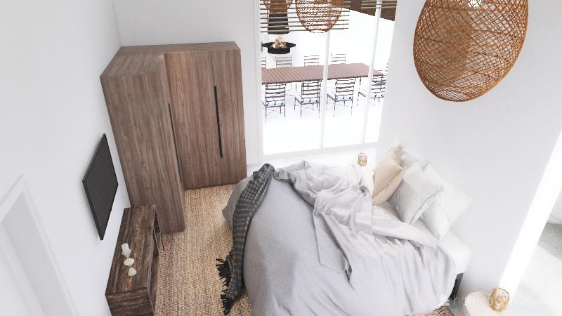 H house Interior Design Render