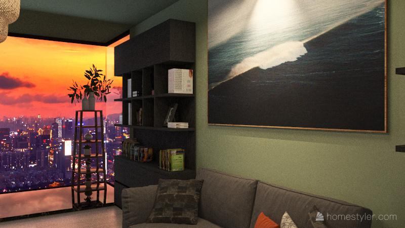 Projekt 3 Interior Design Render