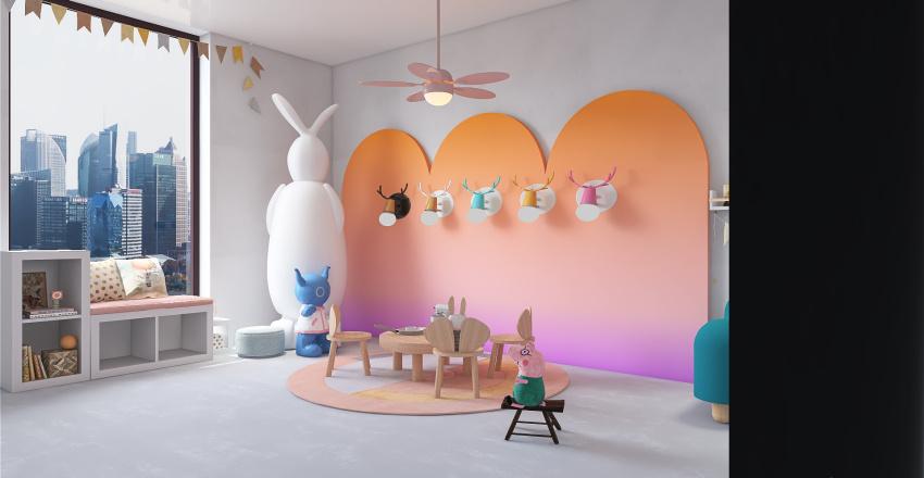 PLAY ROOM Interior Design Render