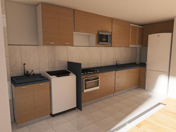 CozinhaMadesa Interior Design Render