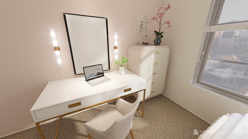 bedroom 3 Interior Design Render