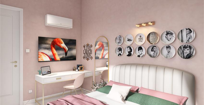 Quarto Casal 5 Interior Design Render