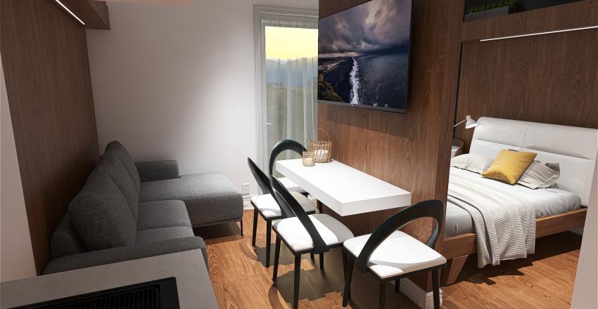 POKOJ PENSJONAT NR 2 Interior Design Render
