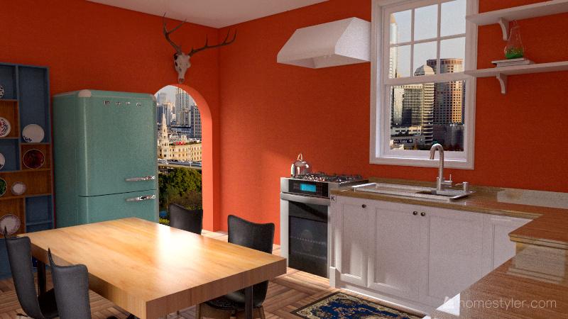 Chambre transformation Interior Design Render