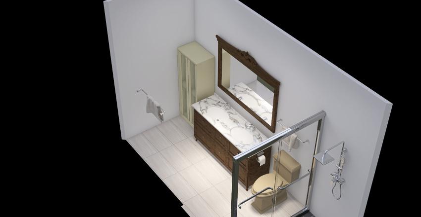 A2_Bathroom Interior Design Render