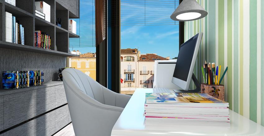 Bleu Home Interior Design Render