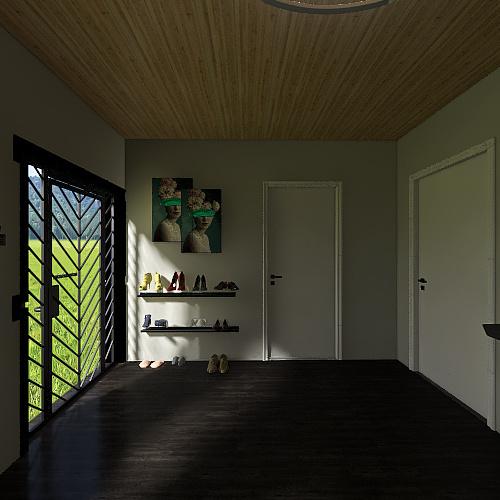 Denalis 3-D home project Interior Design Render