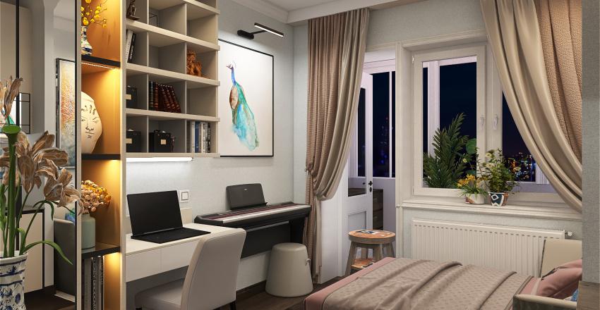 Tania Vorob`eva Interior Design Render