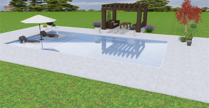Mom's Swimming Pool Interior Design Render
