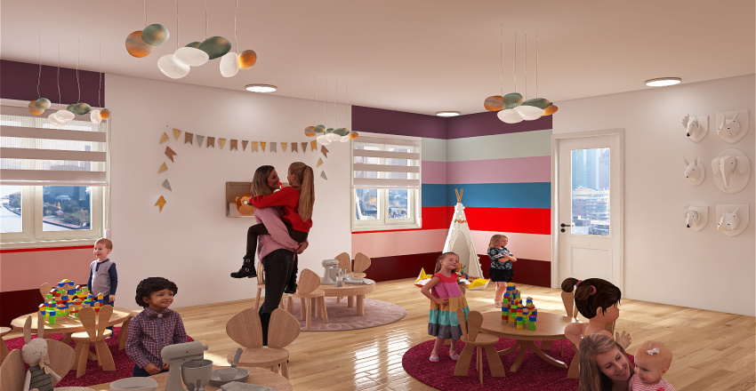 Game room Interior Design Render
