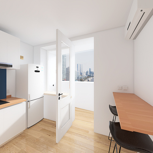 Зодчих 44 Interior Design Render
