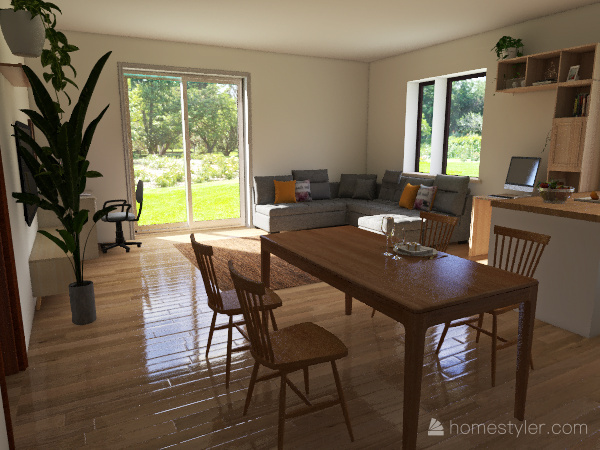 Ház 2.1 (saját terv) Interior Design Render
