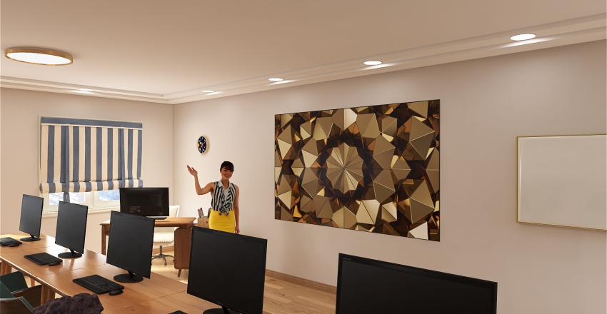 Language class Interior Design Render