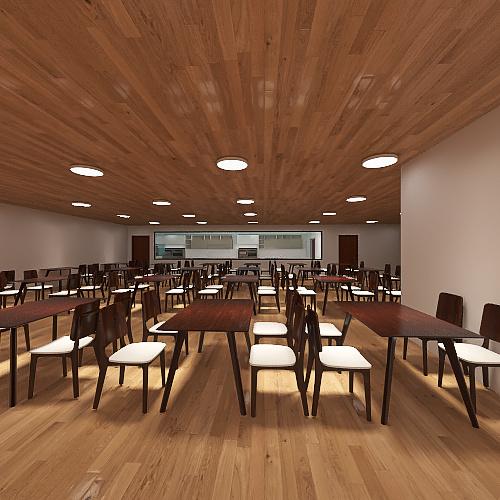 Restaurant007 Interior Design Render