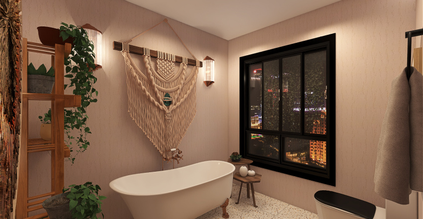 MODRERN BATHROOM Interior Design Render