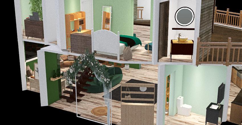 Nature house Interior Design Render