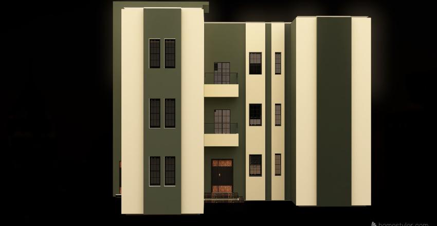 End Akram Interior Design Render