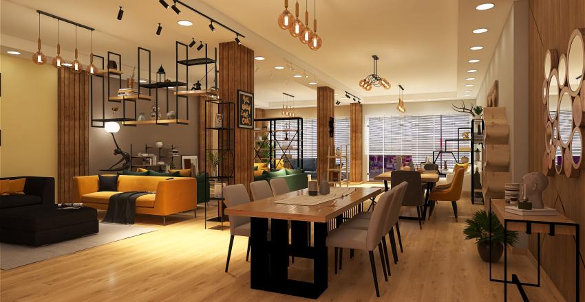 Furniture Gallery Interior Design Render