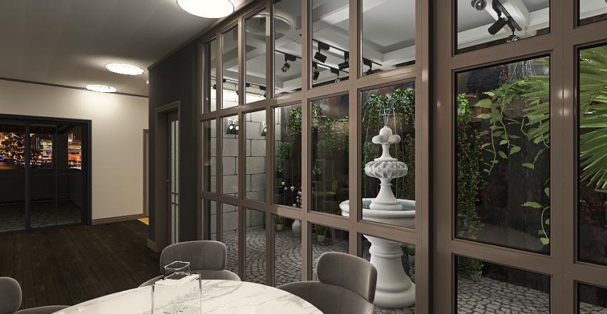 nature home Interior Design Render