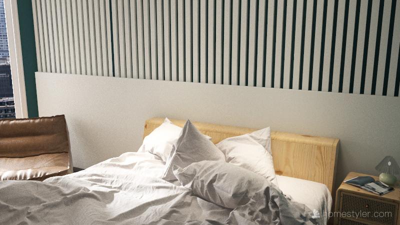 757 Apartment Interior Design Render