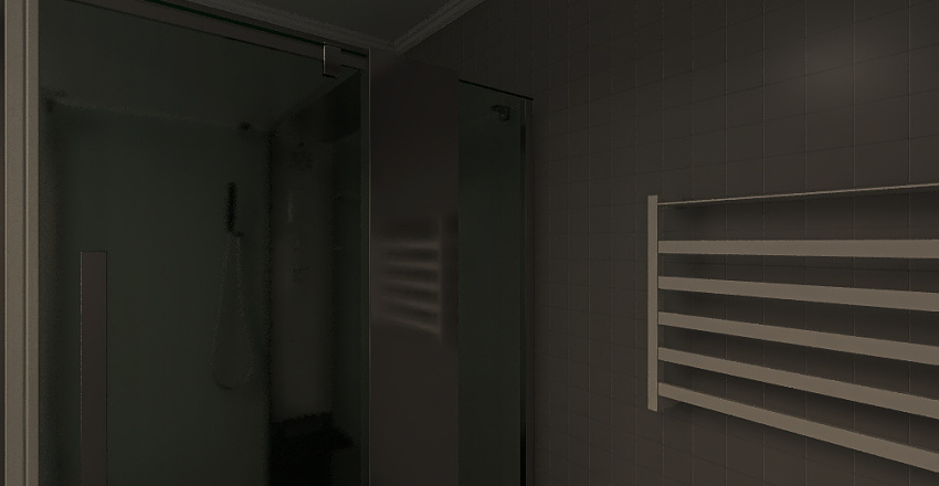 T0 + Bathroom + Closet Interior Design Render