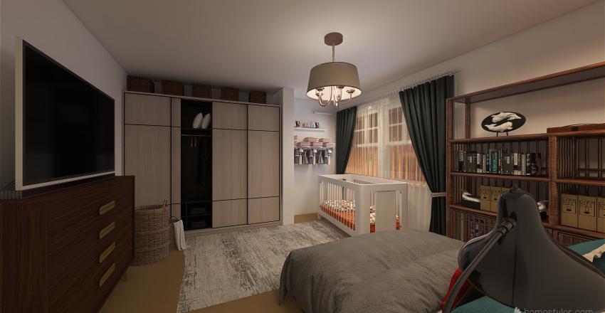 Jannine Apartment Interior Design Render