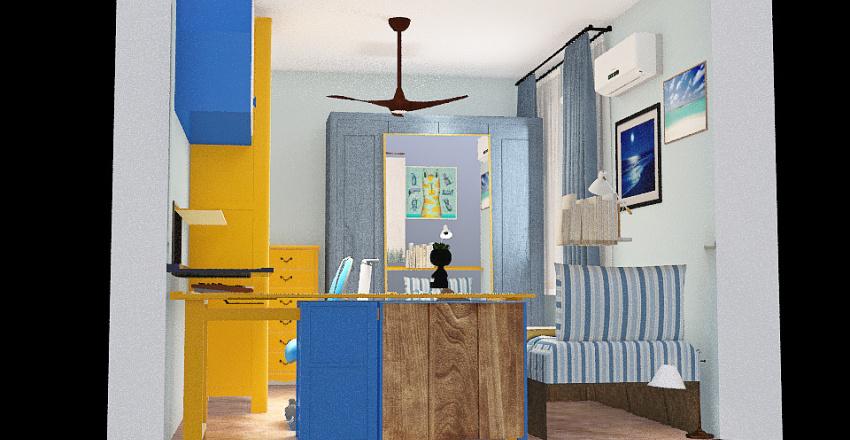 Novo Quarto Dani 5 Interior Design Render