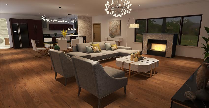 Casa Country Interior Design Render