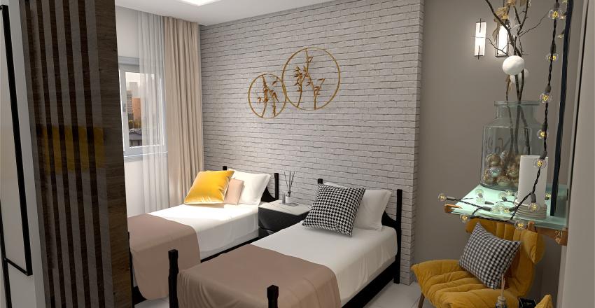 bedroom2 Interior Design Render