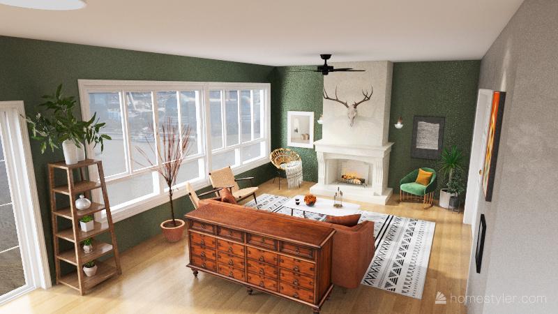 Copy of Great room Assignment Interior Design Render