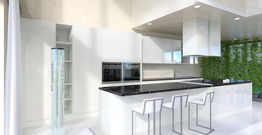 Island's Villa Interior Design Render