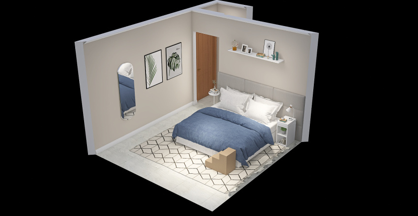 Luciana Hataiama + lucianahataiama@hotmail.com + 15.06.21 Interior Design Render