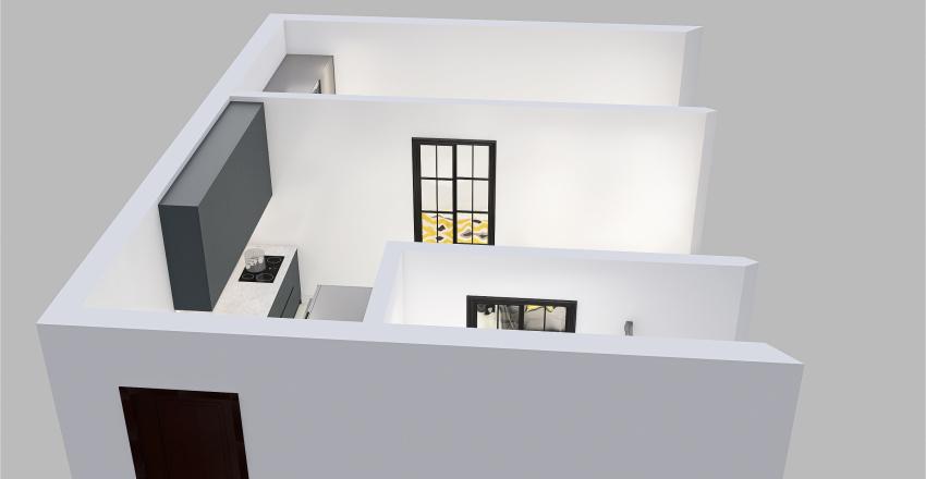 Chodkiewicza 12, Chorzów Interior Design Render