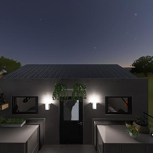 Tiny home #7 Interior Design Render
