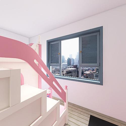 Copy of Apartment Complex Interior Design Render